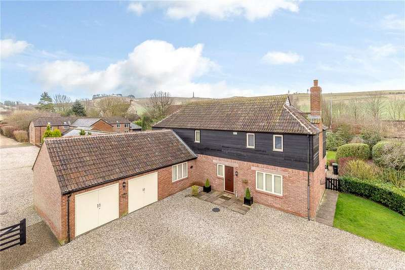 4 Bedrooms Detached House for sale in Oldbury Fields, Cherhill, Calne, Wiltshire, SN11