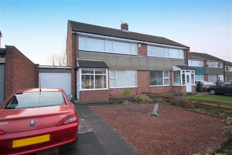3 Bedrooms Semi Detached House for sale in Torver Way, Marden Farm, Tyne And Wear, NE30