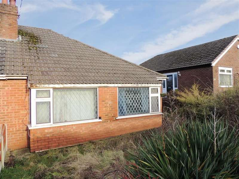 2 Bedrooms Semi Detached Bungalow for sale in Catherine Road, Romiley, Stockport