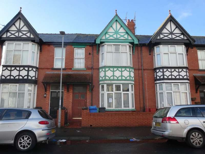 5 Bedrooms Terraced House for sale in Butterton Road, Rhyl