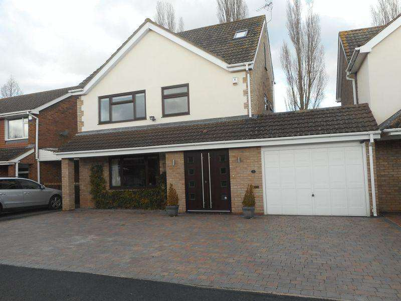 4 Bedrooms Detached House for sale in Keswick Close, St Nicolas Park, Nuneaton