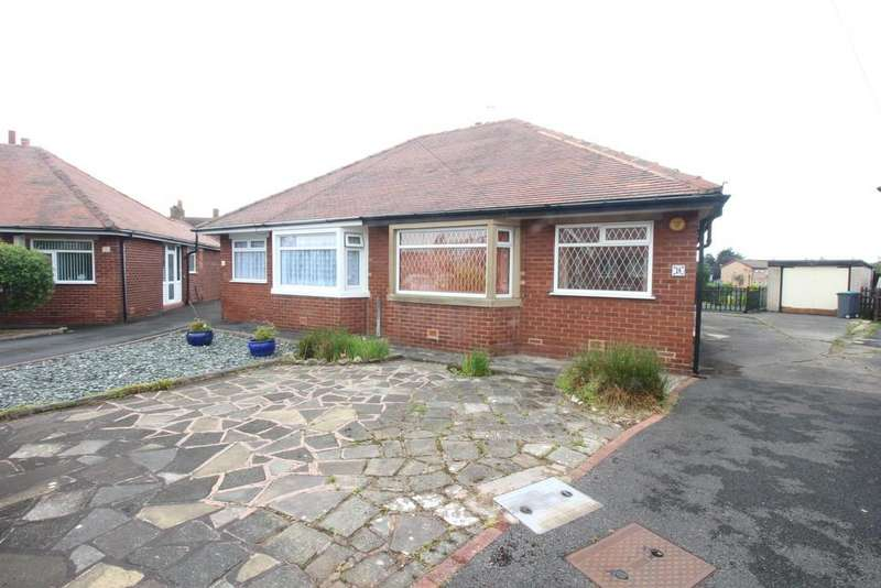 2 Bedrooms Semi Detached Bungalow for sale in Annan Crescent, Marton