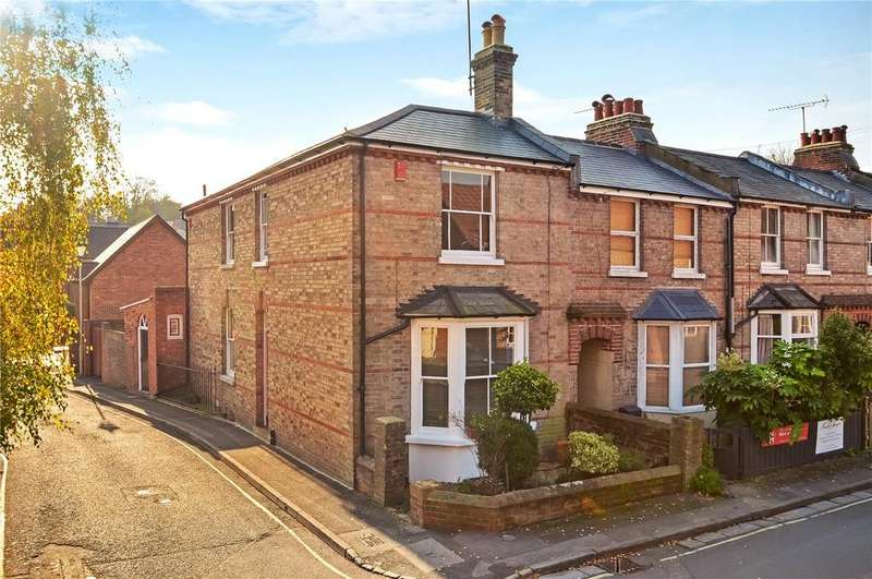 4 Bedrooms End Of Terrace House for sale in Hyde Close, Winchester, Hampshire, SO23