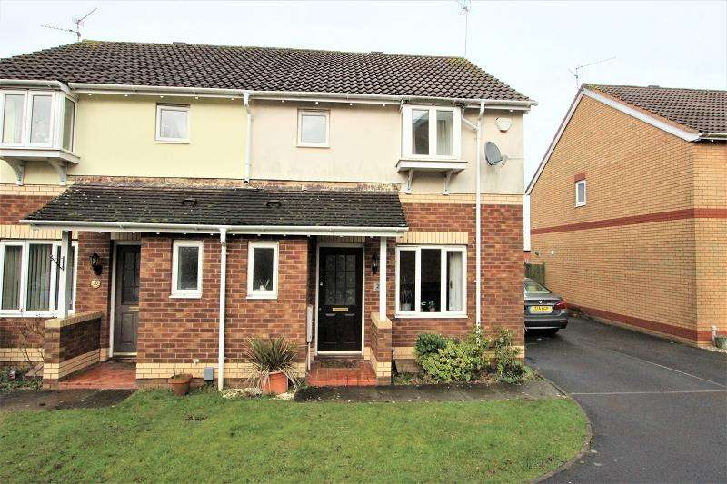 3 Bedrooms Semi Detached House for sale in Allen Close, Old St. Mellons, Cardiff, Cardiff. CF3 5DH