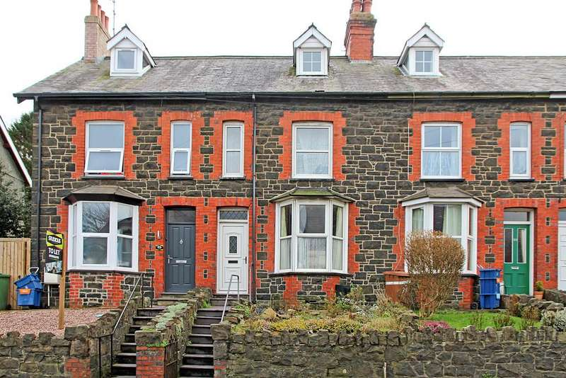 2 Bedrooms Terraced House for sale in Caernarfon Road, Bangor, North Wales