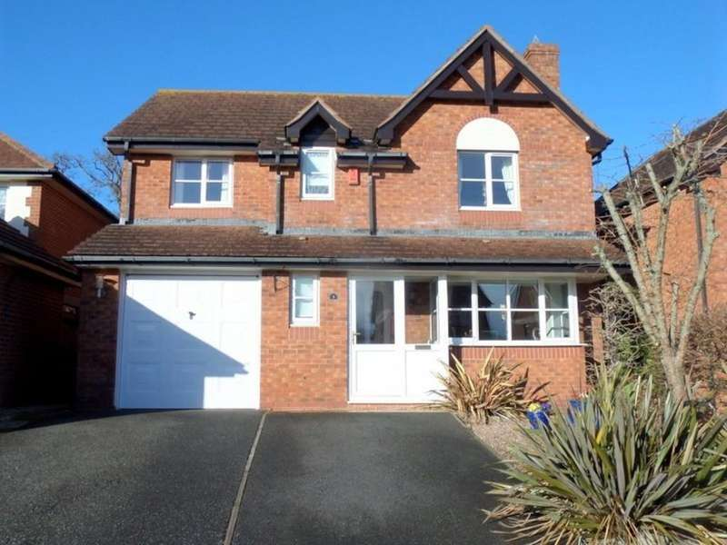 4 Bedrooms Detached House for sale in St Sevan Way, Exmouth