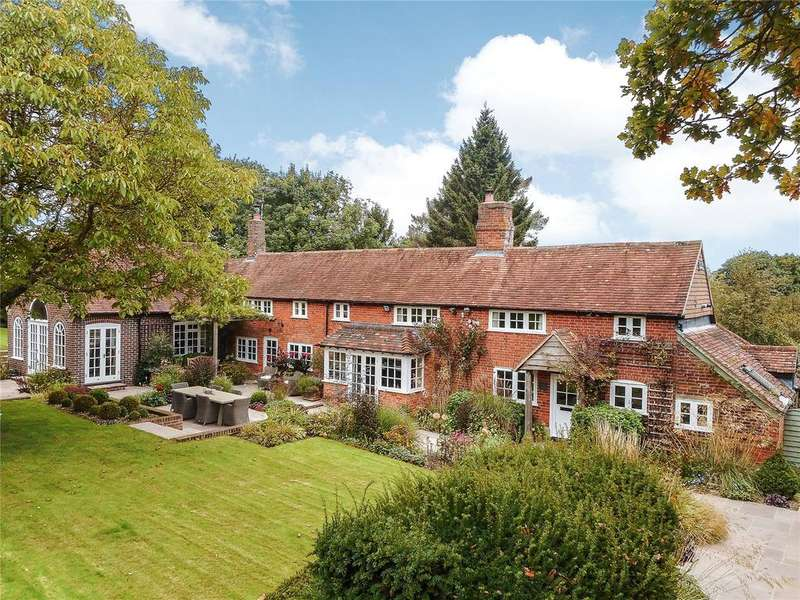 5 Bedrooms Detached House for sale in Tylers Lane, Bucklebury, Berkshire