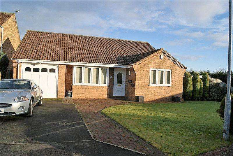 3 Bedrooms Detached Bungalow for sale in Twickenham Court, Seghill