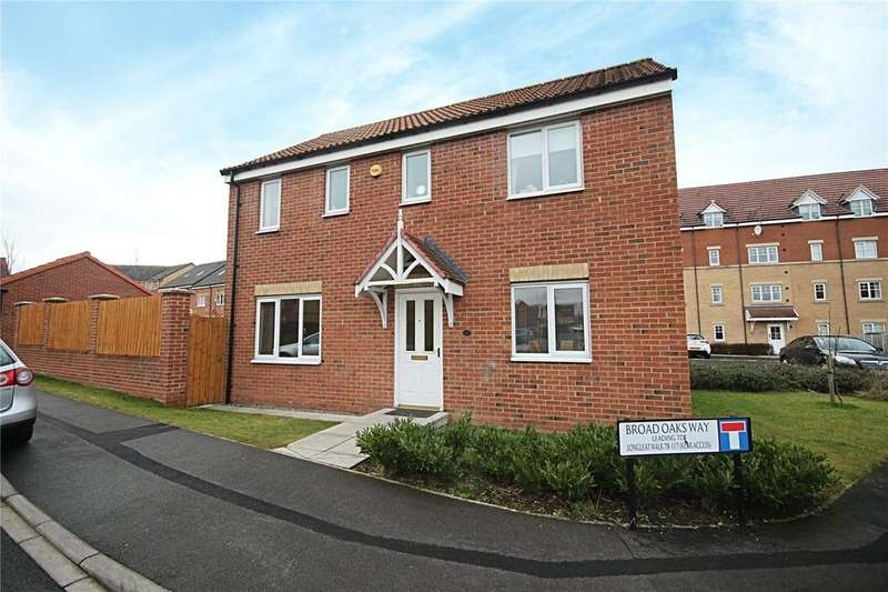3 Bedrooms Detached House for sale in Broad Oaks Way, Ingleby Barwick