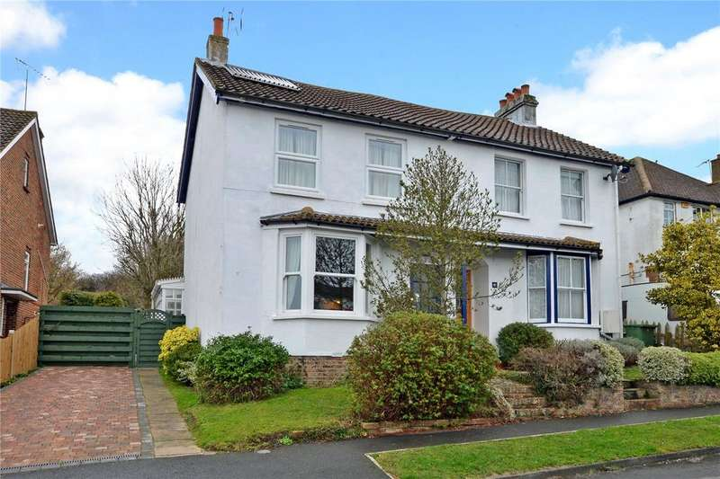 3 Bedrooms Semi Detached House for sale in Rosebery Road, Epsom, Surrey, KT18