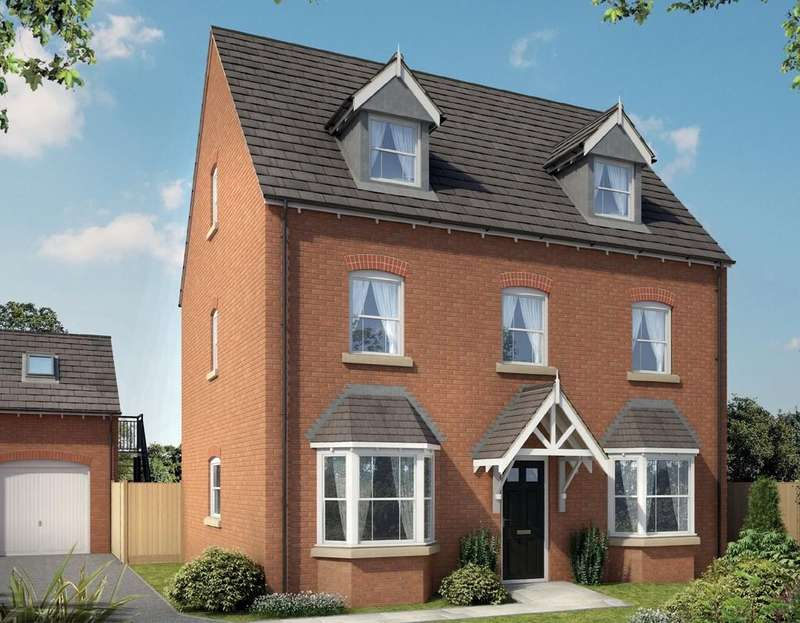 5 Bedrooms Detached House for sale in Dickens Manor, Dickens Heath Road, Dickens Heath