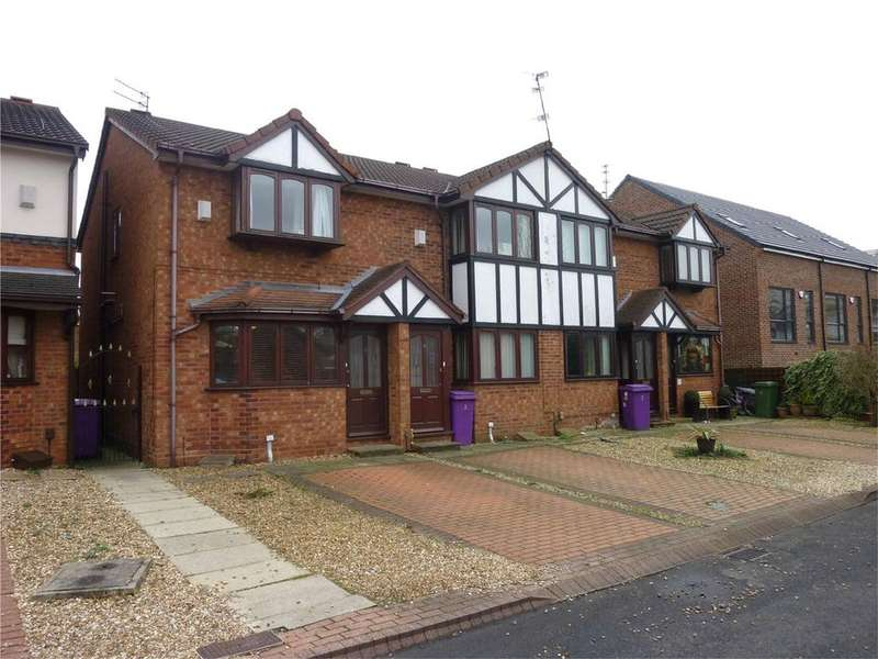 2 Bedrooms Semi Detached House for sale in Douglas Close, Tynwald Hill, Liverpool, Merseyside, L13