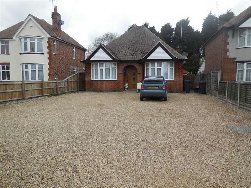 3 Bedrooms Detached Bungalow for sale in Coventry Road, Hinckley