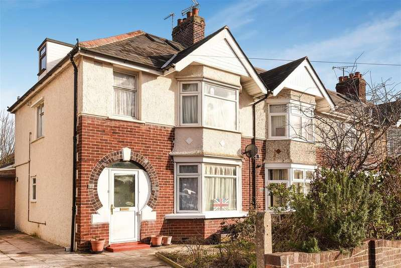 4 Bedrooms Semi Detached House for sale in Ridgefield Road, East Oxford