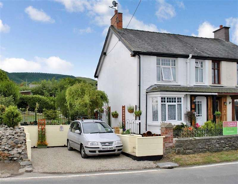 3 Bedrooms Semi Detached House for sale in Penybontfawr