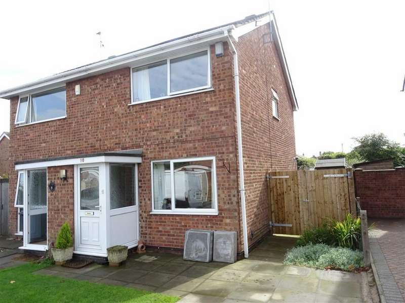 2 Bedrooms Semi Detached House for sale in Lilac Close, Burbage