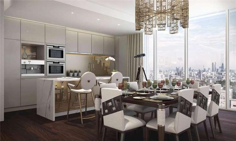 3 Bedrooms Apartment Flat for sale in Aykon One, 63-71 Bondway, SW8