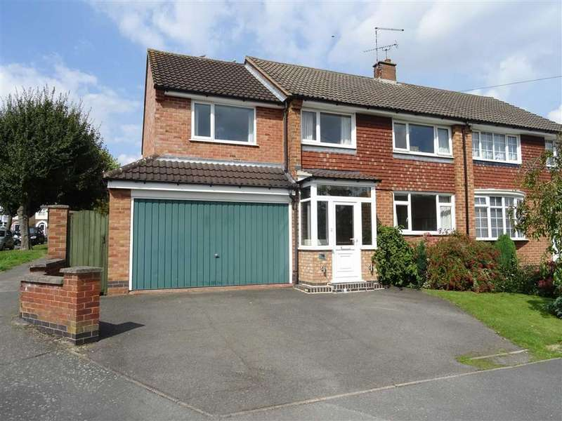 5 Bedrooms Semi Detached House for sale in Princess Road, Hinckley