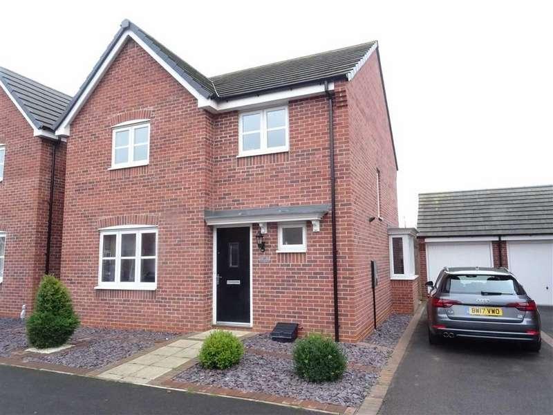 4 Bedrooms Detached House for sale in Bonneville Road, Hinckley