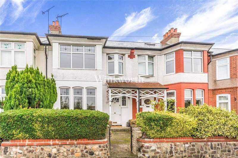 3 Bedrooms Terraced House for sale in Farm Road, London, N21