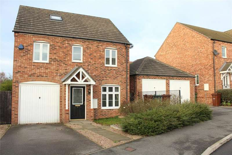 4 Bedrooms Detached House for sale in Lake View, Pontefract, WF8