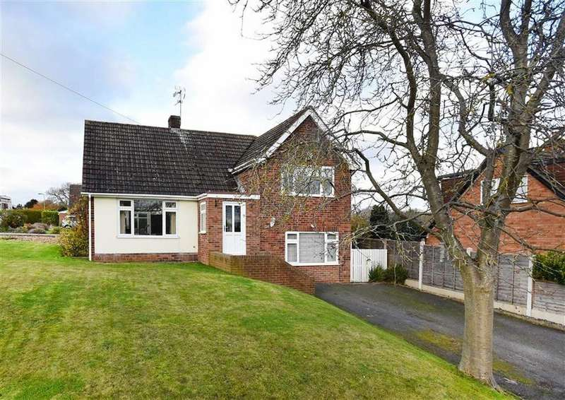 4 Bedrooms Detached House for sale in 5, Greenfields Drive, High Town, Bridgnorth, Shropshire, WV16