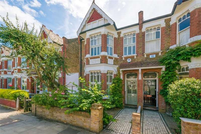 4 Bedrooms Terraced House for sale in Keslake Road, London, NW6