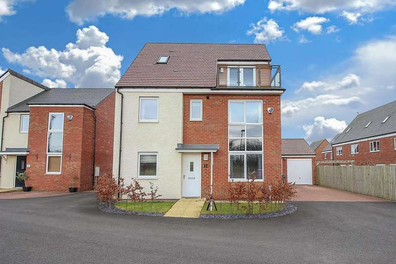 5 Bedrooms Detached House for sale in Lambley Way, Newcastle Upon Tyne