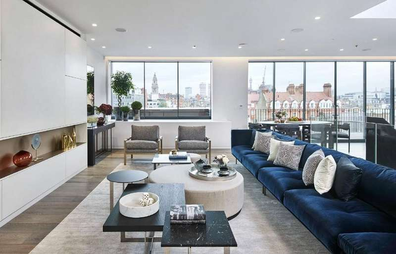 3 Bedrooms Apartment Flat for sale in One Twenty Four, 124-130 Seymour Place, Marylebone, London, W1H