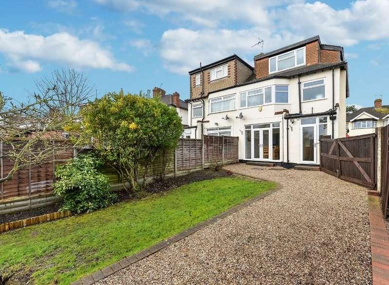 4 Bedrooms Semi Detached House for sale in Deynecourt Gardens, Wanstead