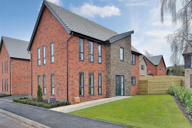 4 Bedrooms Detached House for sale in Plot 61 'Windsor', Rockcliffe Grange, Nottingham Road, Mansfield