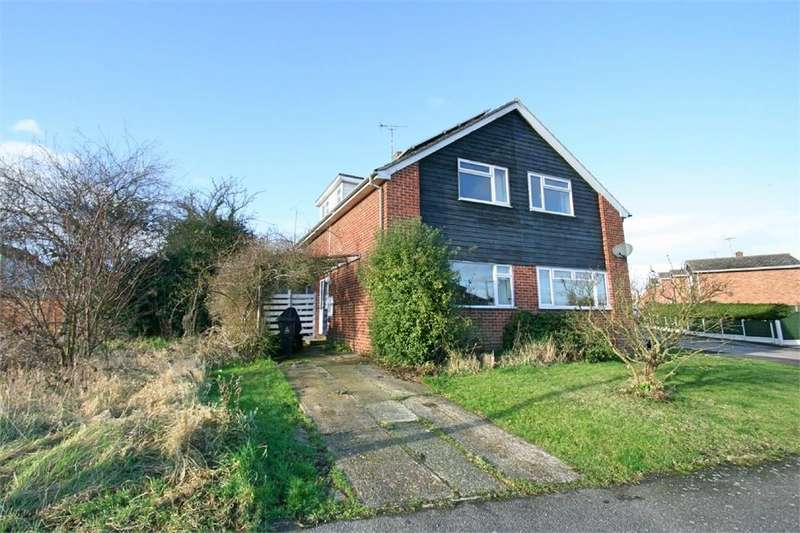 2 Bedrooms Semi Detached House for sale in Sceptre Close, Tollesbury, Maldon, Essex