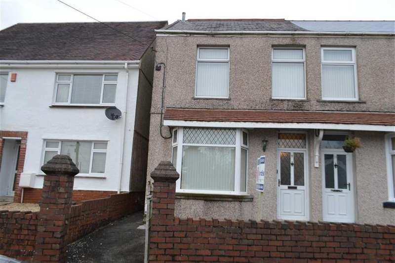 3 Bedrooms Semi Detached House for sale in Clordir Road, Swansea, SA4