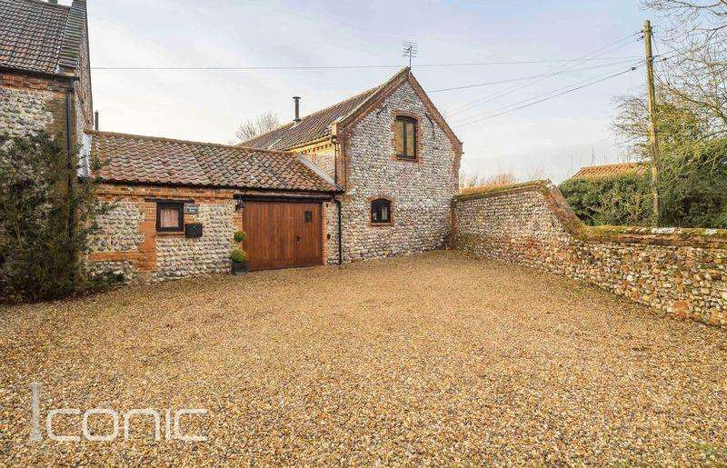 2 Bedrooms Semi Detached House for sale in Back Lane, Roughton, Norwich