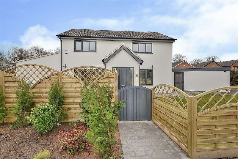 4 Bedrooms Detached House for sale in Hallam Way, West Hallam
