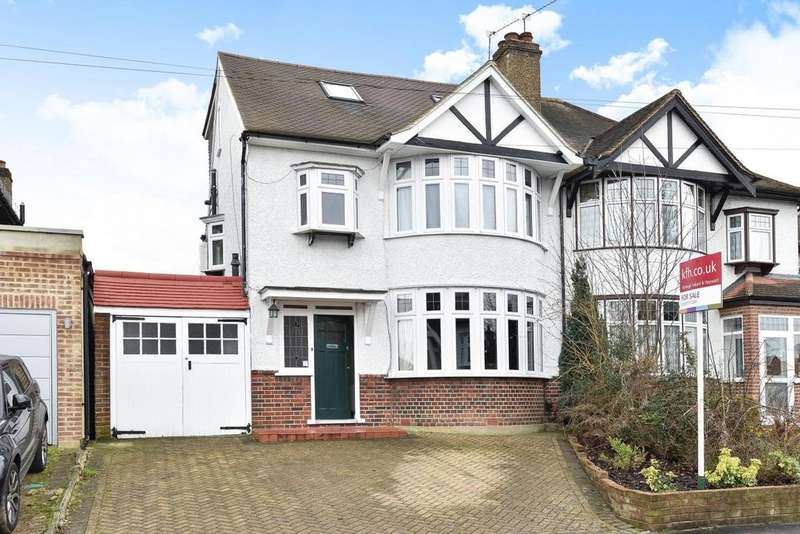 4 Bedrooms Semi Detached House for sale in Sandy Way, Croydon