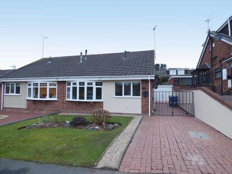 2 Bedrooms Semi Detached Bungalow for rent in 14 Alder Way, Hazel Slade, WS12 0SX