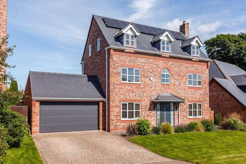 5 Bedrooms Detached House for sale in Northop, Mold, Flintshire