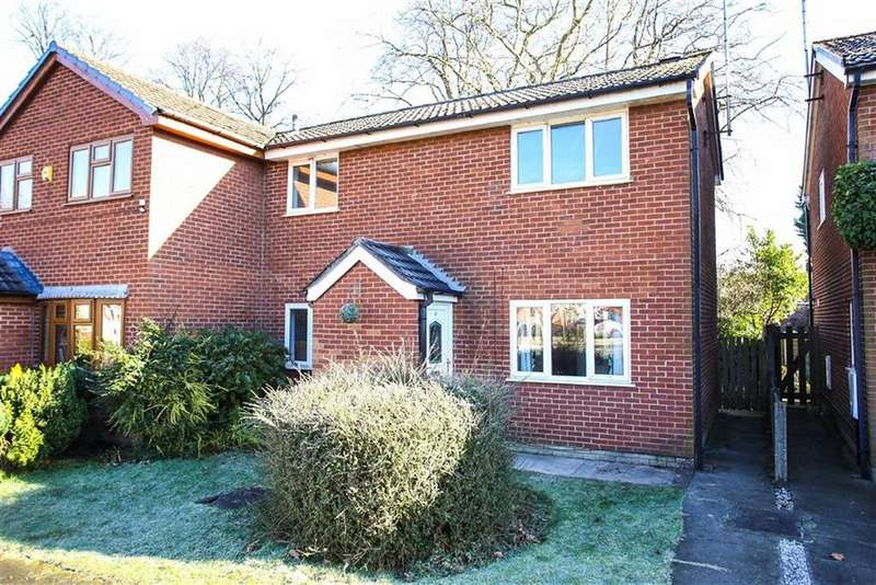 3 Bedrooms Semi Detached House for sale in Greenside, Heaton Mersey