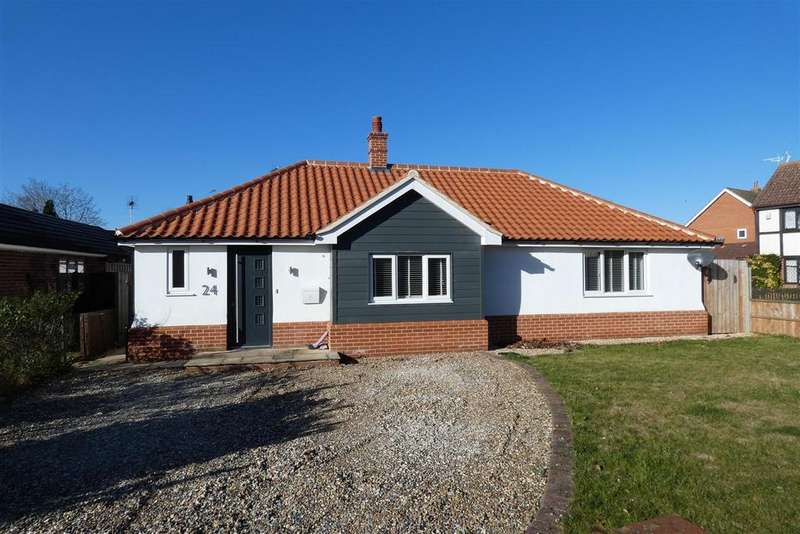 3 Bedrooms Detached Bungalow for sale in Wamil Way, Mildenhall