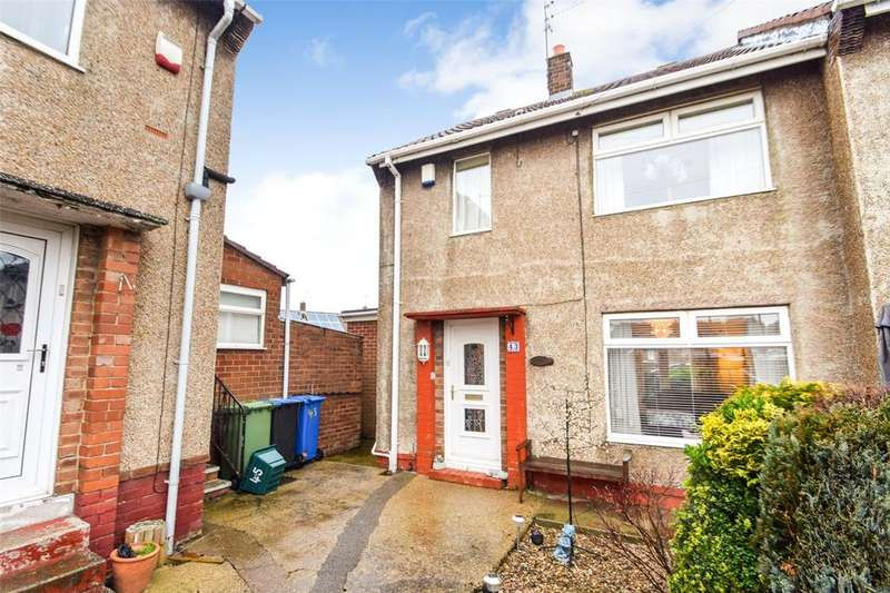2 Bedrooms End Of Terrace House for sale in Derwent Close, Seaham, Co. Durham, SR7