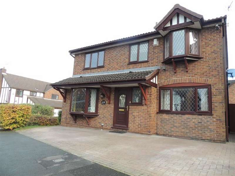 4 Bedrooms Detached House for sale in Seven Stiles Drive, Marple, Stockport