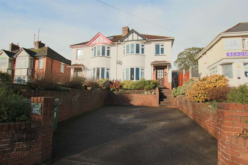 3 Bedrooms Semi Detached House for sale in Main Road, Pinhoe, Exeter
