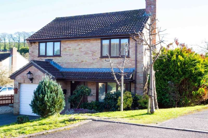 4 Bedrooms Detached House for sale in Westernlea, Crediton EX17