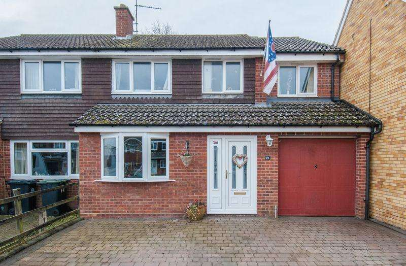 4 Bedrooms Semi Detached House for sale in Bilsdon Close, Rushden