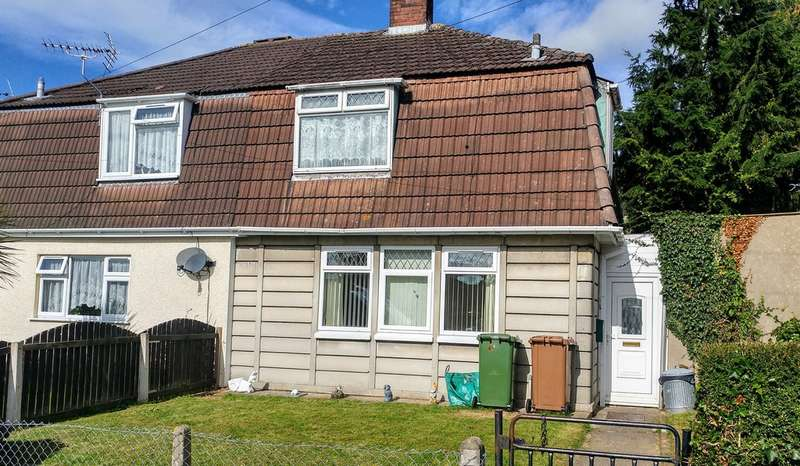 3 Bedrooms Semi Detached House for sale in Bryn Goleu, Bedwas, Caerphilly