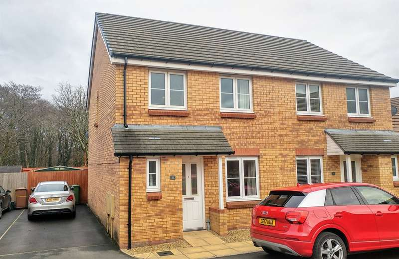 3 Bedrooms Semi Detached House for sale in Waun Draw, Caerphilly
