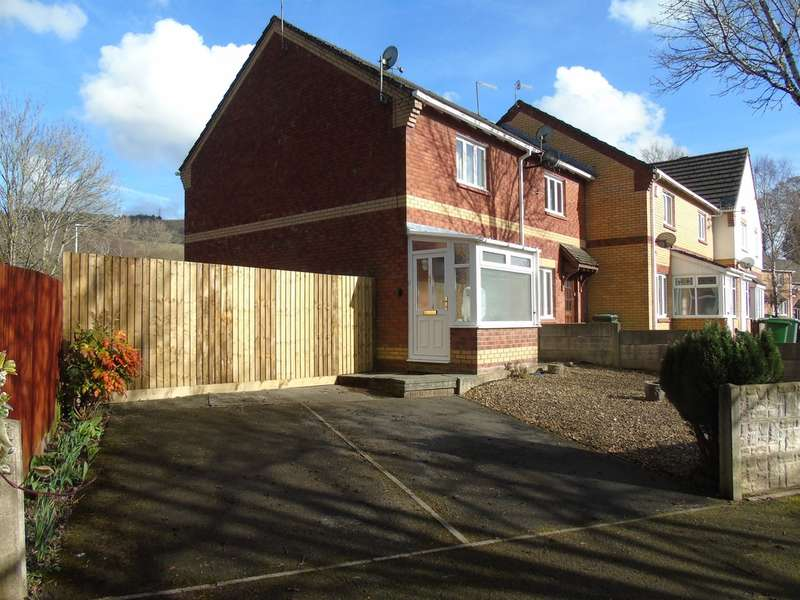 2 Bedrooms End Of Terrace House for sale in Clos Aneurin, Rhydyfelin, Pontypridd
