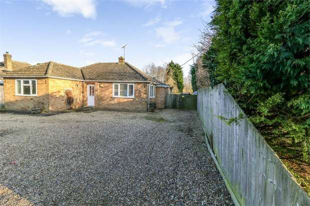 3 Bedrooms Detached Bungalow for sale in Smeeth Road, Marshland St James, Wisbech, Norfolk