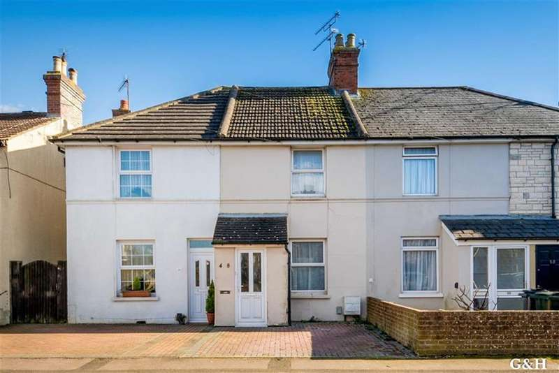 2 Bedrooms Terraced House for sale in Albemarle Road, Willesborough, Ashford